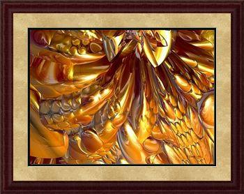 "Giclee print ""Gooey Chocolate Caramel Nugat #1"" by Kinnally"